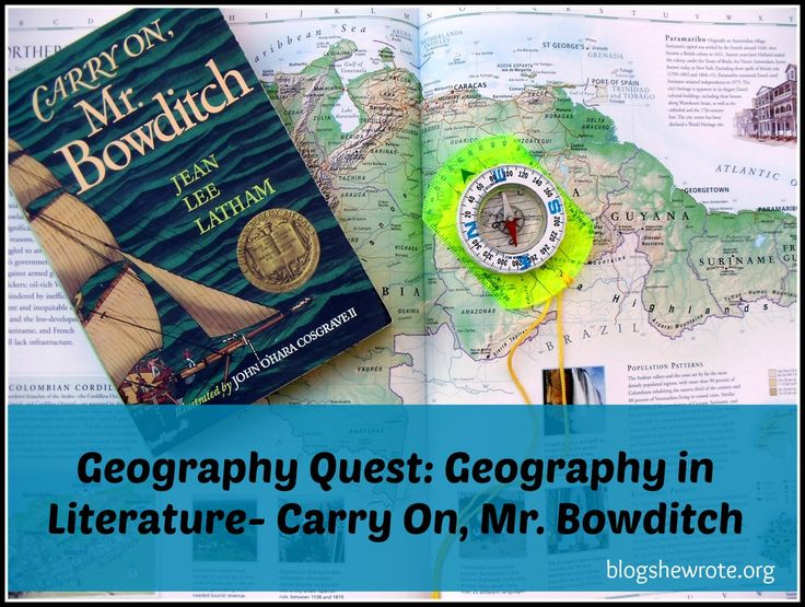 Geography in Literature: Carry On, Mr. Bowditch