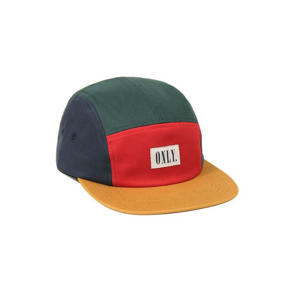 Tommy 5-Panel (205 CNY) ❤ liked on Polyvore featuring accessories, hats, caps, 5 panel cap, caps hats and 5 panel hat