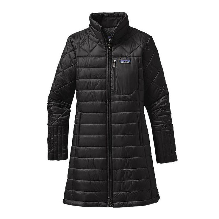 This sporty quilted parka has a shell made of 100% recycled nylon and is insulated with warm 150-g Thermogreen® 100% polyester (92% recycled) with a C6-DWR (durable water repellent) finish. The weathe