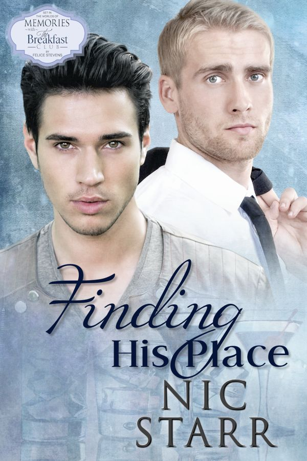 I'm thrilled to be able to share the cover of my upcoming release, Finding His Place, with you. The cover artist is Meredith Russell  gay romance   m/m romance   romance novel