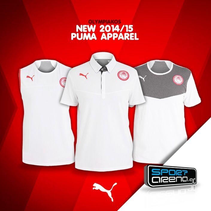 New #Olympiakos #Puma apparel for 2014/15 season! http://www.sportarena.gr/en-us/eur/latest_additions_olympiakos/latest-additions-olympiakos?utm_source=pinterest.com&utm_medium=referral&utm_campaign=LatestOLY0602