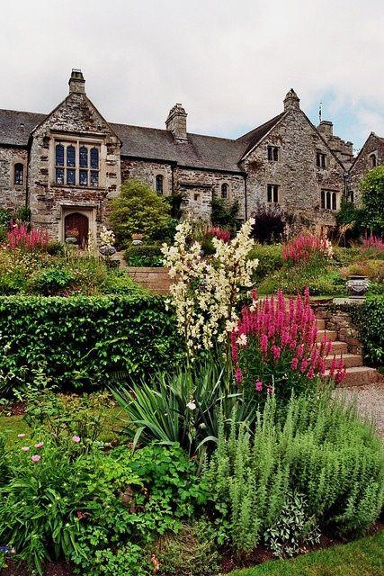 "Cornwall Gardens: Cotehele House & Gardens... Saltash, Cornwall...Susanna Kearsley's ""The Rose Garden"""