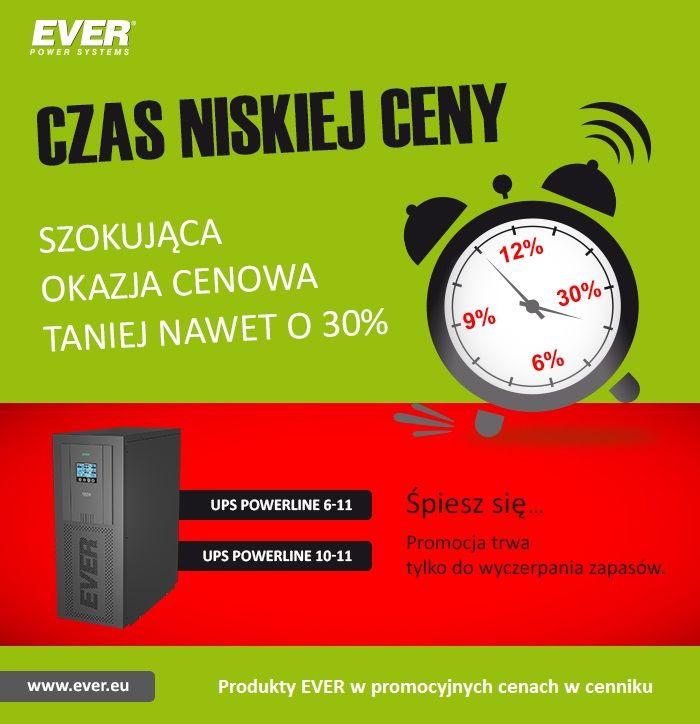EVER - Czas niskiej ceny. Taniej nawet o 30% w https://eokazje.eu/ !