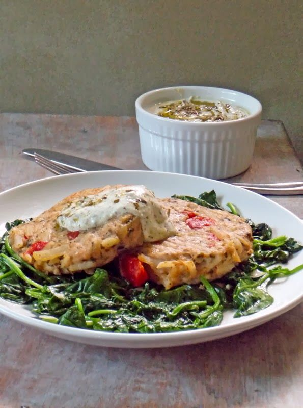 Ore-Ida Pesto Chicken and Potato Patties makes a quick, satisfying meal!  (Serves 4)