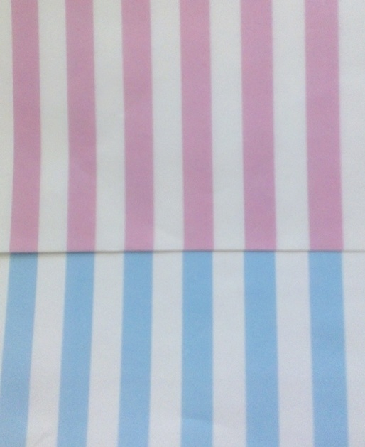 Baby Pink & Baby Blue. Perfect for a Baby Shower