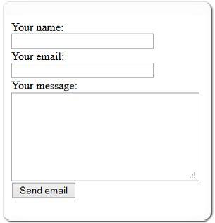 25+ melhores ideias de Html contact form no Pinterest | Website ...