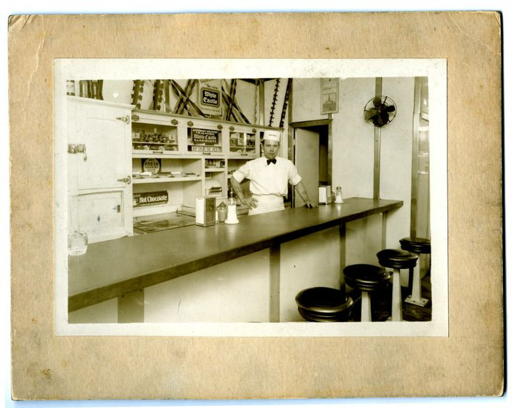 Interior View Of White Castle Number 4. Located At 1807 Race St., Cincinnati