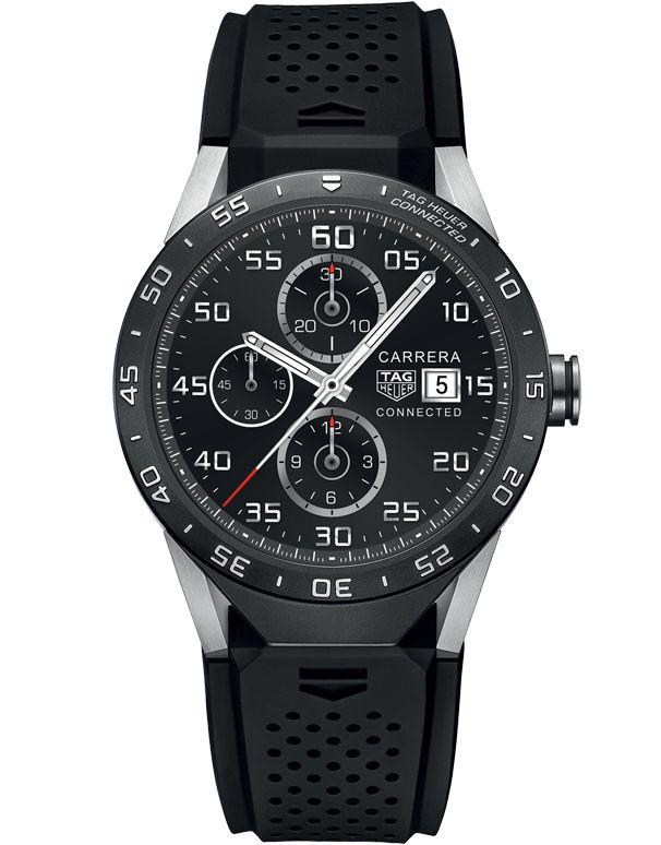 TAG Heuer Connected Men's Smart Watch - SAR8A80.FT6045