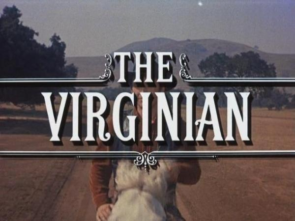 The Virginian : TV series revolved around the tough foreman of the Shiloh Ranch played by James Drury. His top hand Trampas (Doug McClure) and he were the only characters to remain with the show for the entire run. Loved Trampas !!