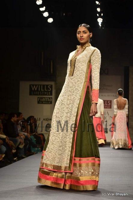 Manish Malhotra Wills Collection | Manish Malhotra's collection at Wills Lifestyle India Fashion Week ...