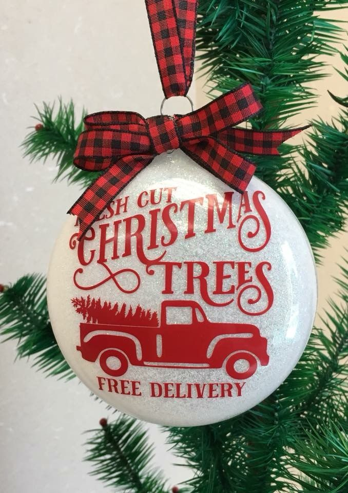 Ca2746120b4a7bf09f61f5fee452450d Jpg 678 960 Vinyl Christmas Ornaments Silhouette Christmas Ornaments Diy Christmas Ornaments