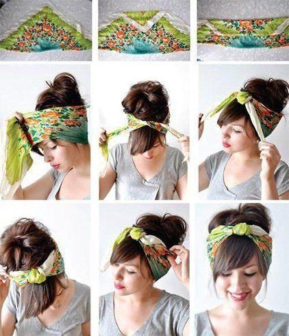 Turban Style Scarf