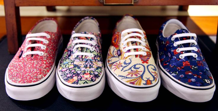 VANS MEETS LIBERTY - #LibertyPrint Vans  - I want a pair of these so badly - not fussed which one - ❤️ them all!