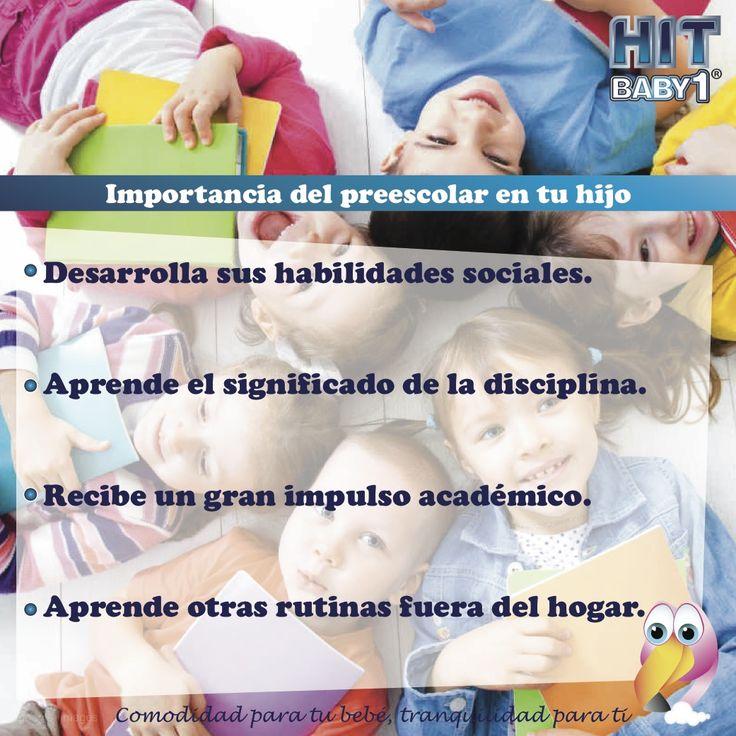 Importancia de la educación preescolar en los niños. #niños #preescolar #jardíndeinfancia #educación #niñas