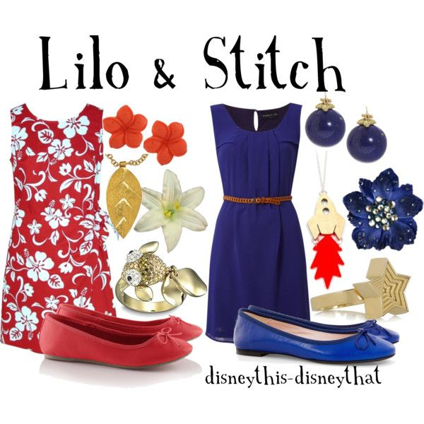 Lilo and Stitch, created by disneythis-disneythat on Polyvore