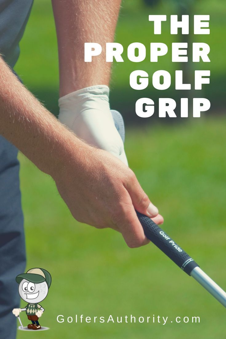 Not sure if you have the proper golf grip, or if you are ...