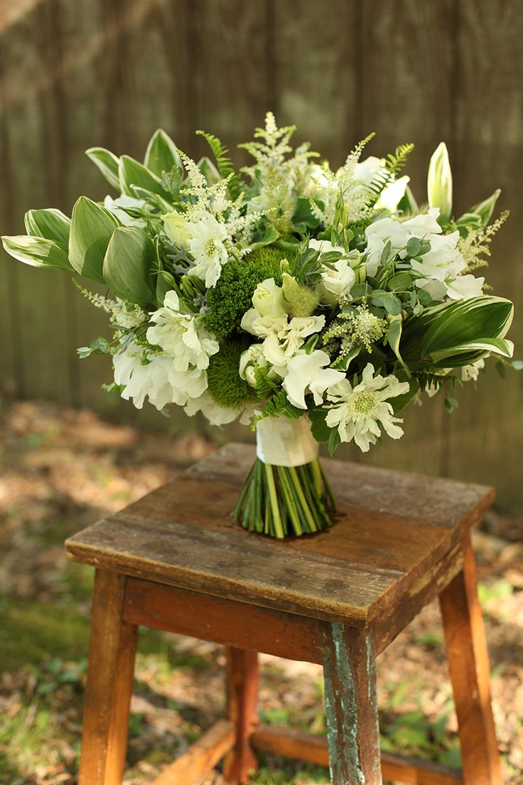 431 best green flower arrangements bouquets images on pinterest bridal bouquet by for a wedding at the little red schoolhouse in indian hill by floral verde llc in cincinnati ohio with white scabiosa dhlflorist Image collections