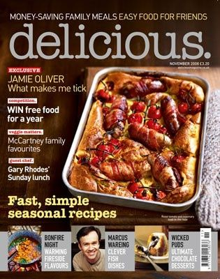 Delicious Magazine (UK), November 2008 (searchable index of recipes)
