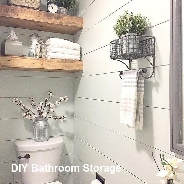 New Diy Bathroom Storage Ideas In 2020 Diy Bathroom Design Diy Bathroom Storage Diy Bathroom Decor