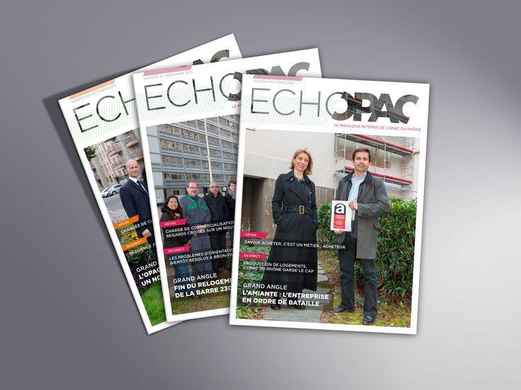 Magazine interne de l'Opac du Rhône