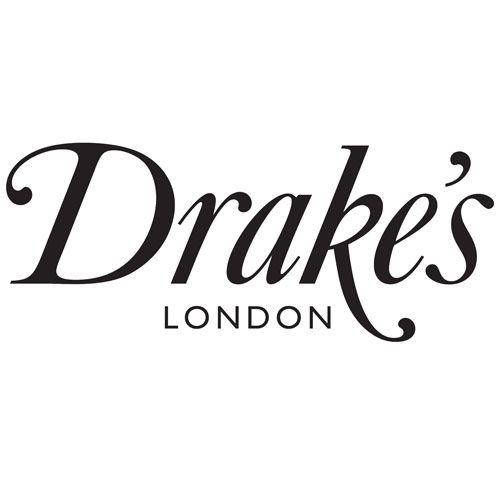 Branding for the gentlemen's outfitters' first shop located on Clifford Street in London.: Drake Identity, Branding Design, Pentagram Design, Logos Design, Logos Straplin, Drake London, Brilliant Logos, Logos Typo, Design Stuff