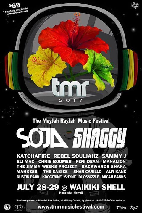 The MayJah RayJah 2017 Music Festival - http://fullofevents.com/hawaii/event/the-mayjah-rayjah-2017-music-festival/
