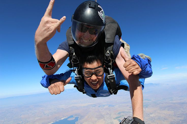 Tandem Skydiving Los Angeles | Skydive Perris