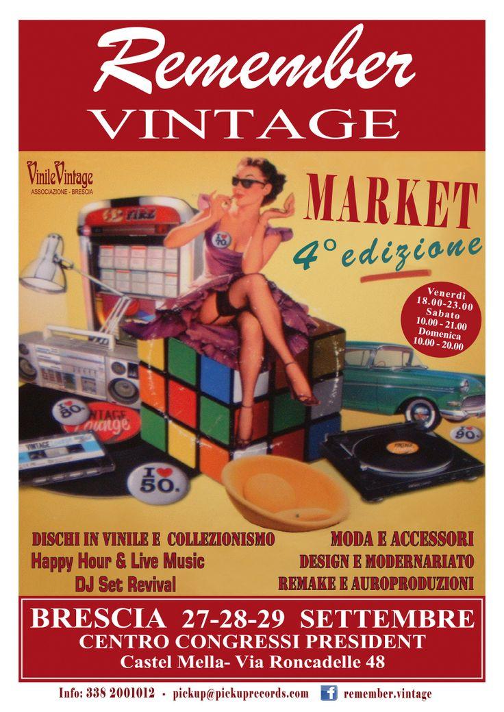 Remember Vintage, 27-28-29 settembre, Brescia