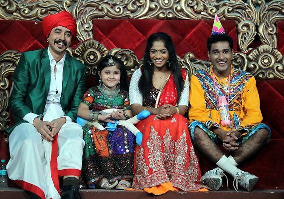 Pihu on 'Comedy Circus Ke Mahabali'