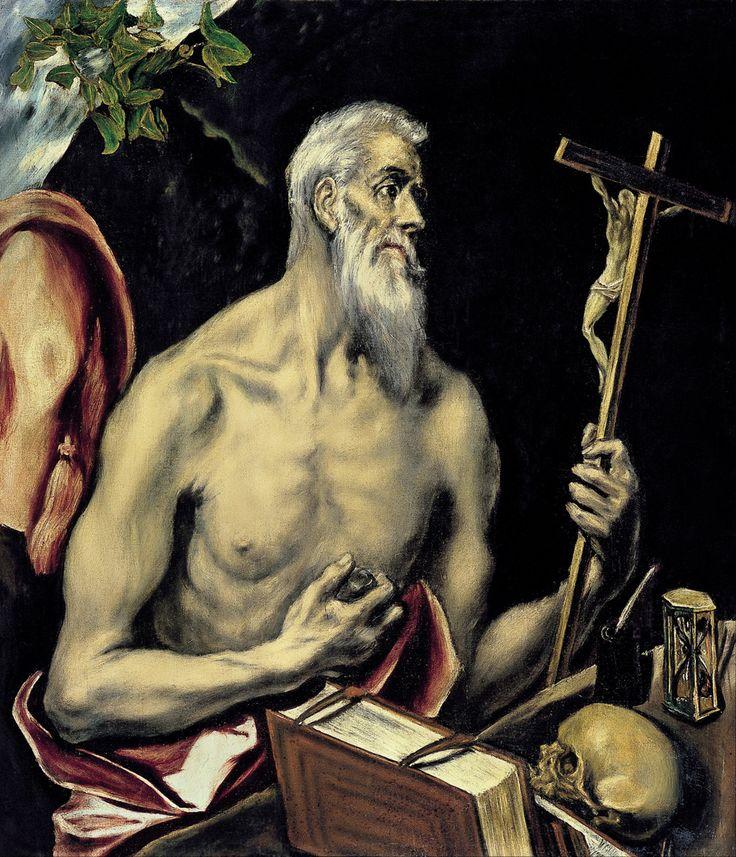 El Greco - Saint Jerome. 1605 - 1610