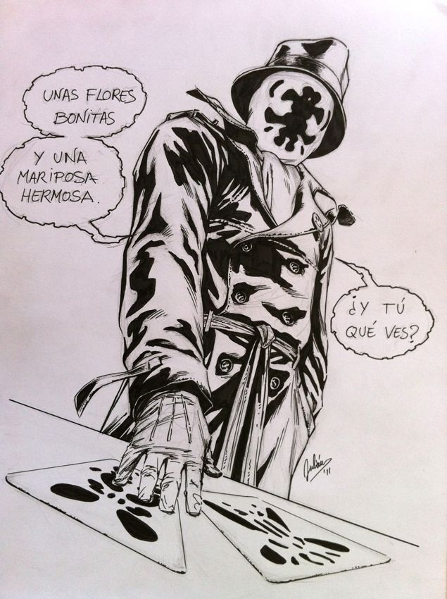 Commission: Rorschach