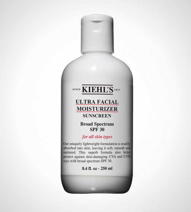 Airplane Beauty: 20 Must-Haves for Your Carry-on via Brit + Co...Moisturizer ($19): As we all know, airplanes are terrible for your skin but if you keep a little moisturizer with you, you can make sure your face doesn't get too dry and flaky during the flight. The lightweight formula of Kiehl's Ultra Moisturizer absorbs easily so you won't look greasy while locking in moisture and protecting your skin.