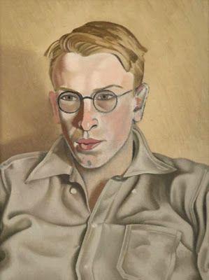 """Quentin Angus"" 1942-4 by Rita Angus (1908 - 1970)"