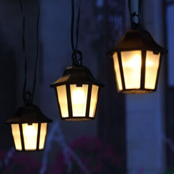 Patio Solar Lantern String Light Item No.: SS1H05 Create A Classic  Atmosphere And Perfect
