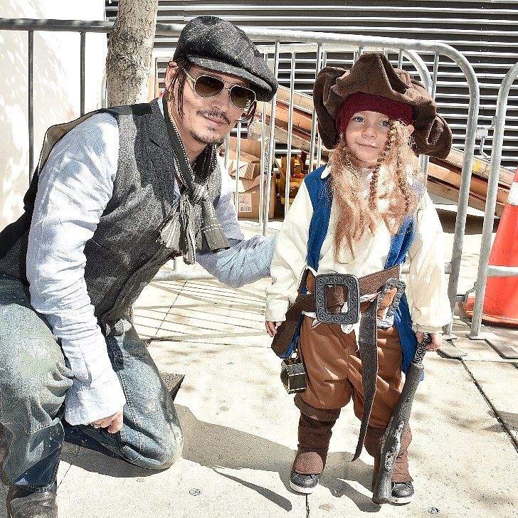 Johnny Depp Meets a Mini Captain Jack Sparrow and It's Beyond Cute