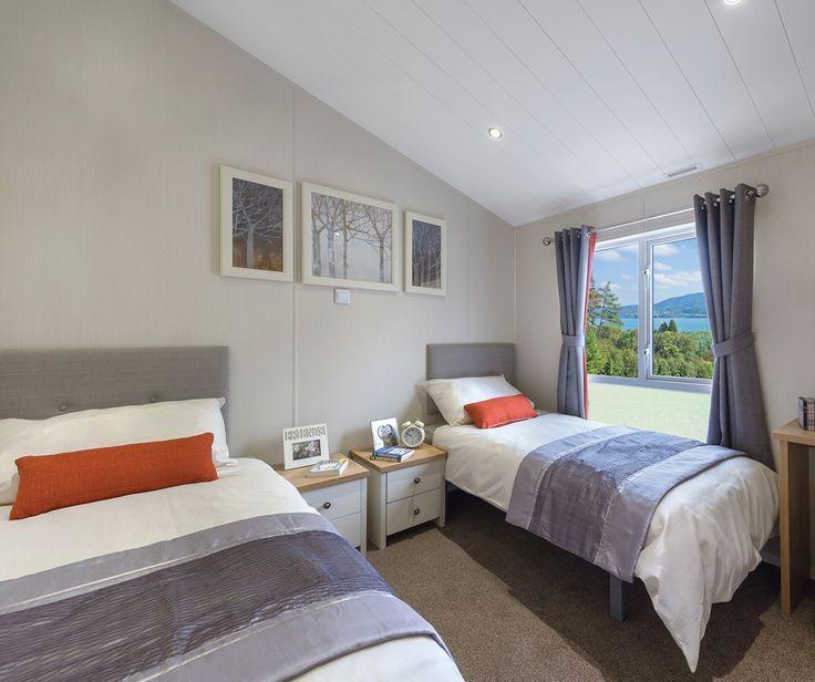Portland 40x20 2 bedroom model - bedroom 2