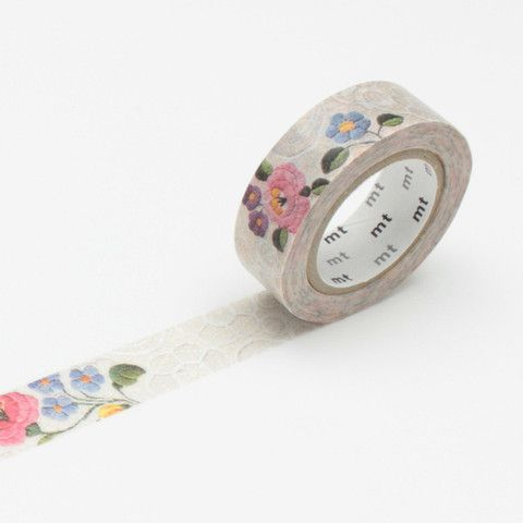 MT ex 'Lace / Kalocsa' Washi Tape by MT Masking Tape | Fox and Star UK