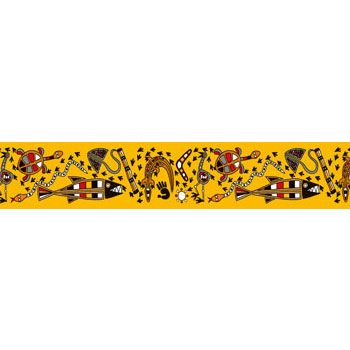 Australiana Large Border. Colourful border with straight edges for easy use and continuity of design. Read More →