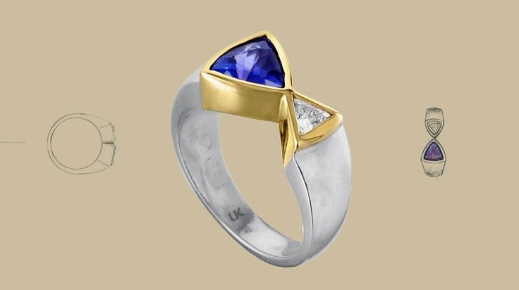 Uwe Koetter Tanzanite.     At Uwe Koetter, we have a stunning selection of loose tanzanite gemstones and jewellery, which we craft into our world-renowned unique designs.   The deeper the intensity of blue, the more valuable the stone – however, specific skin tones complement lighter or darker Tanzanite colours.