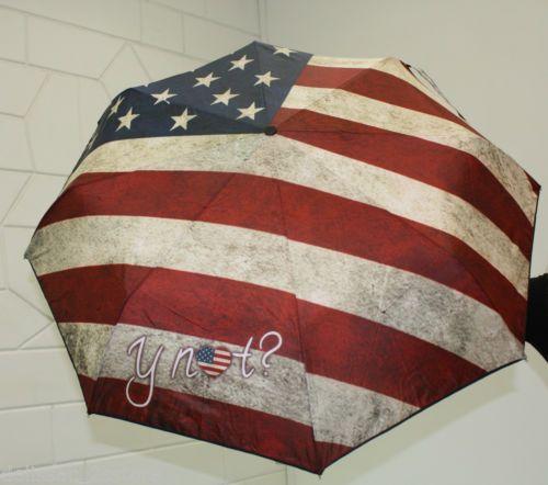 Ombrello antivento Y NOT automatico apri e chiudi stampa Bandiera Statunitense http://stores.ebay.it/delissac-2sstore