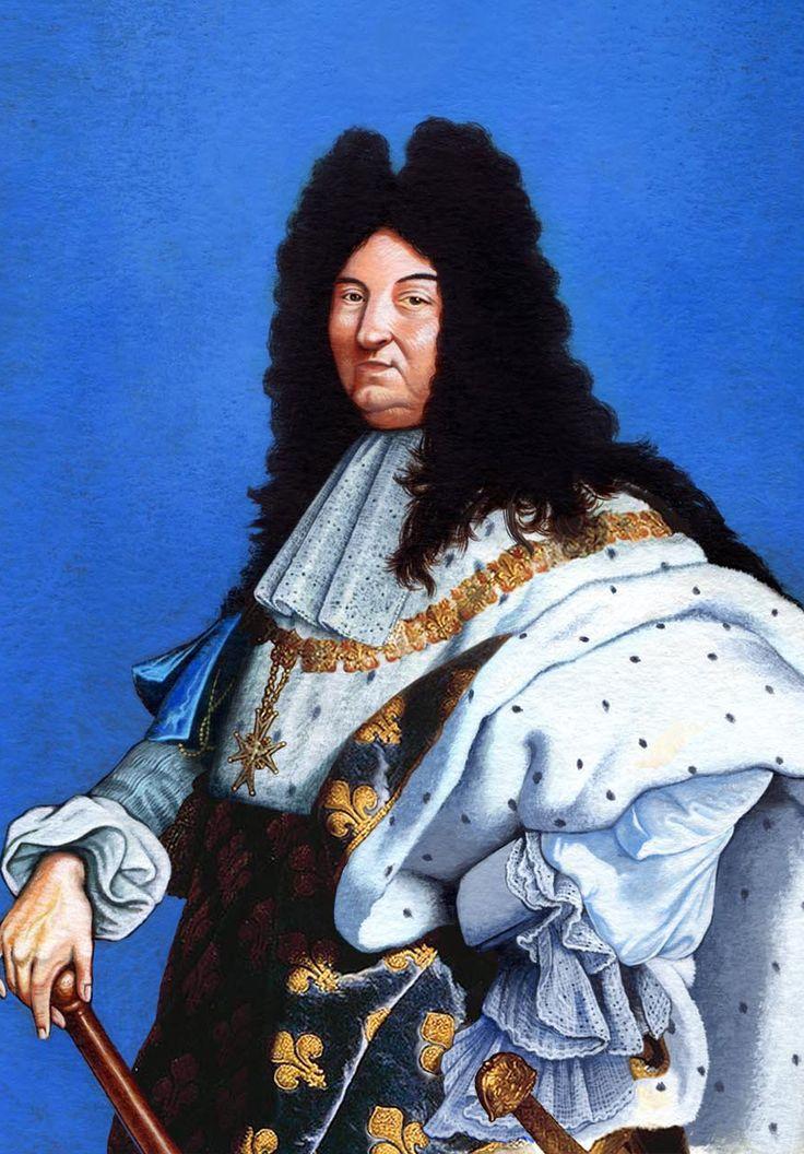 """Louis XIV of France / Rey Luis XIV de Francia """"Rey Sol"""" 12"""