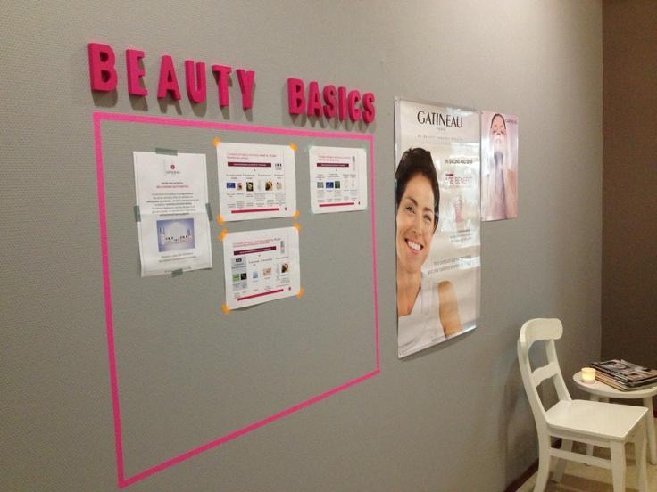 Wachtruimte Beauty Basics