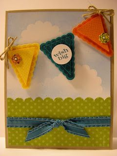 Inking It Up With Cathy: Stampin' Up!'s Pennant Parade Stamp Set...