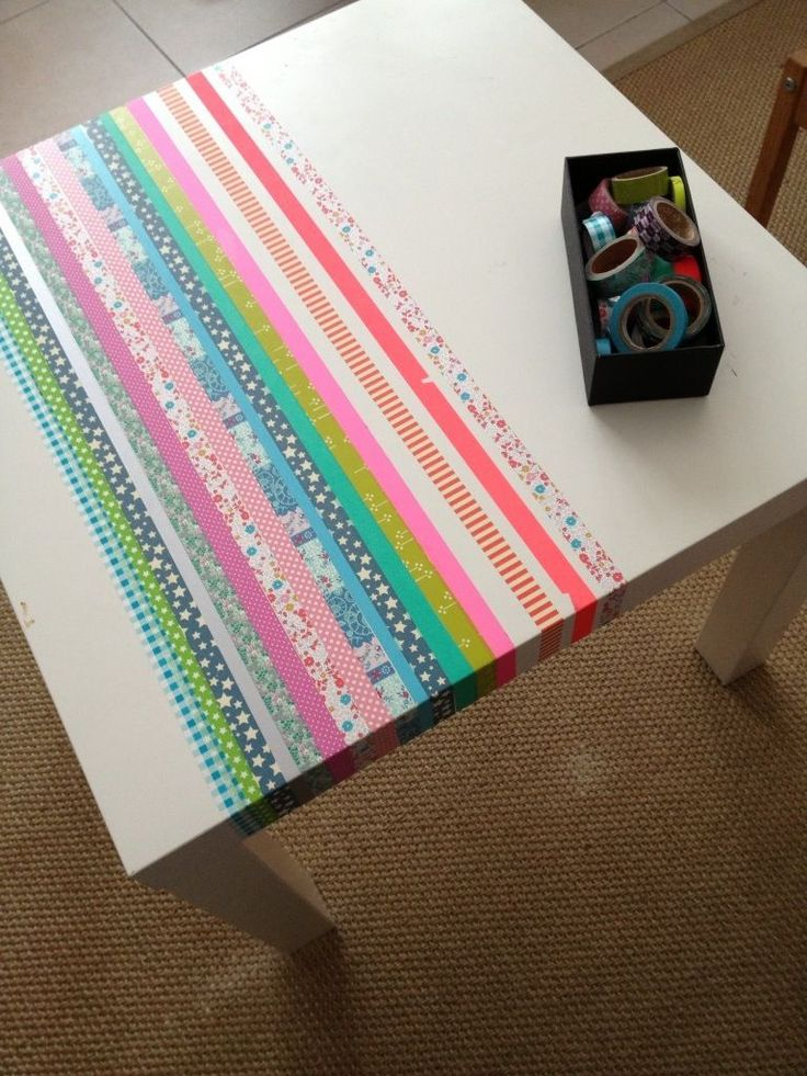 Customiser une table ikea et la rendre unique masking - Customiser une commode ikea ...