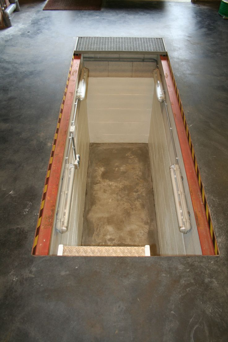 18 Best Inspection Pit Images On Pinterest Garages