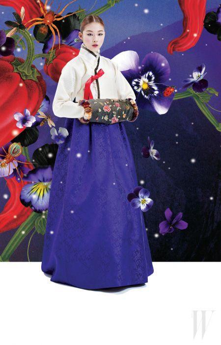 Hanbok korean 사계. Four Seasons (四季) - STYLE.COM