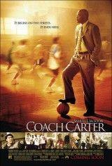 CINE(EDU)-263. Coach Carter/ dirigida Thomas Carter. USA, 2004. Baseada na vida real do controvertido adestrador de baloncesto Ken Carter. En 1999, foi adestrador no Instituto Richmond de California e, malia que o seu equipo levaba catorce vitorias consecutivas, decidiu que os xogadores non disputarían os dous partidos seguintes, senón que, debido ao seu baixo nivel académico, dedicaríanse a estudar para os exames trimestrales. http://kmelot.biblioteca.udc.es/record=b1438124~S1*gag