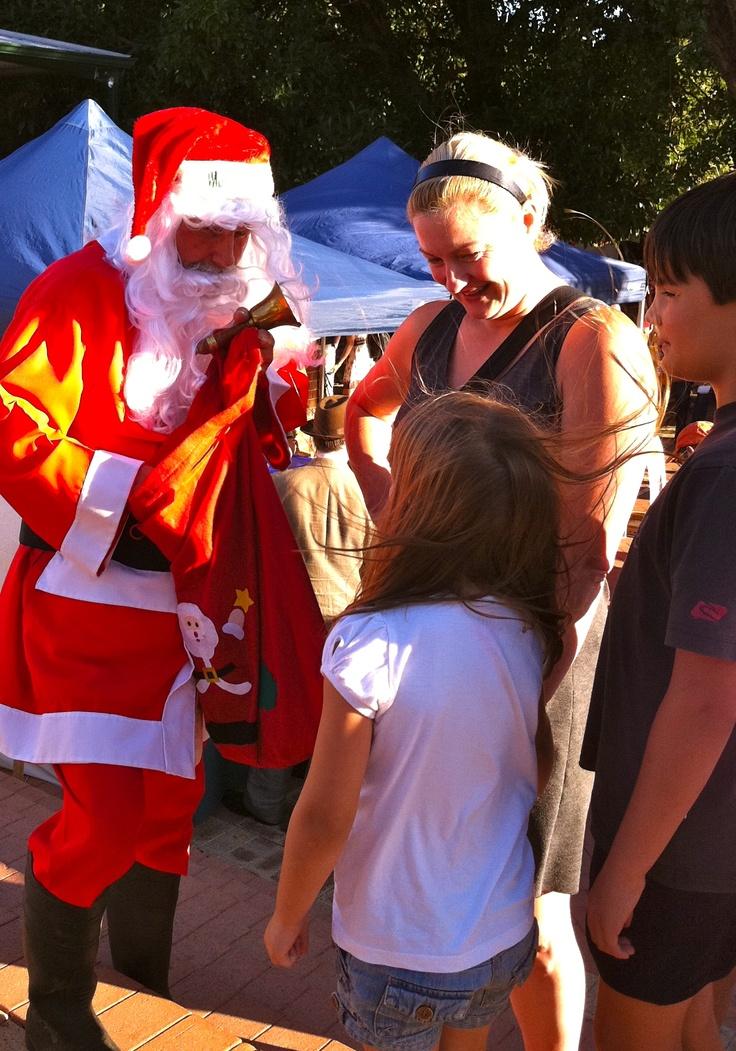 Santa comes to visit @ SFM