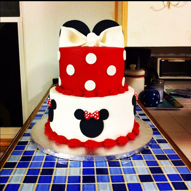 Pics Of Minnie Mouse Birthday Cakes