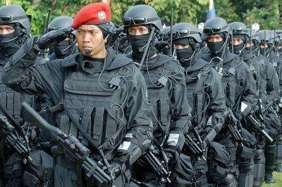Kepala Pusat Penerangan Komando Pasukan Khusus (Kopassus), Letnan Kolonel Inf Jo Sembiring, mengaku Kopassus selalu siap kapan pun dibutuhkan. Meski begitu, sampai saat ini belum ada arahan dari pucuk pimpinan tertinggi TNI untuk diterjunkan.